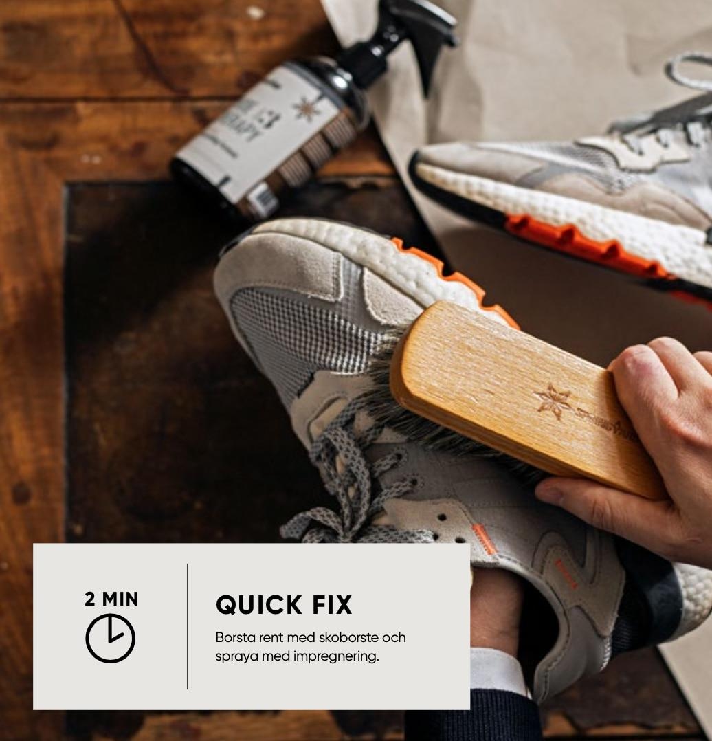 Enkel guide till rena och snygga sneakers.
